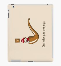 This is Not a Pipe iPad Case/Skin