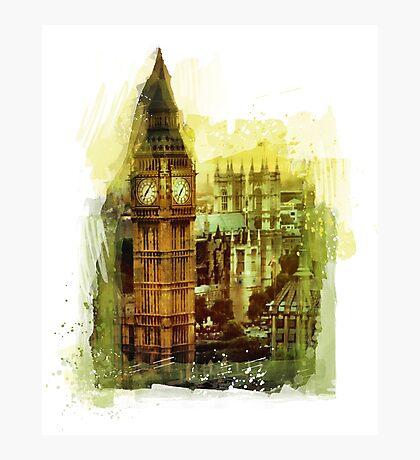 London - Big Ben Photographic Print