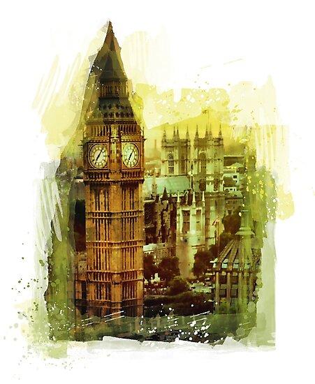 London - Big Ben by JBJart