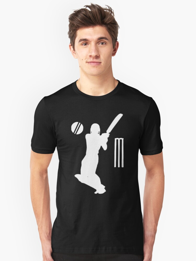 cricket t-shirts on dark by parko
