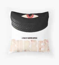 Rubber - A Film by Quentin Dupieux  Throw Pillow