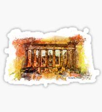 The Acropolis Of Athens Sticker