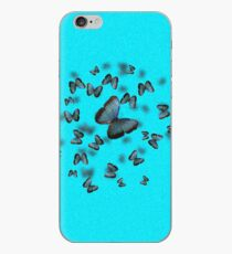 Blue Butterfly iPhone Case