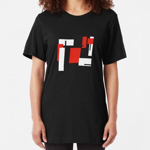 De Stijl Slim Fit T-Shirt