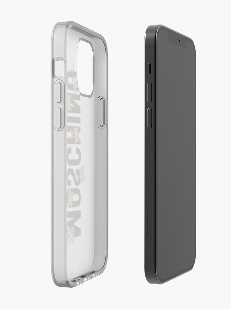 Alternate view of Cute Moschino iPhone Case & Cover