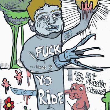 f**k yo ride too! by deadrabbit82