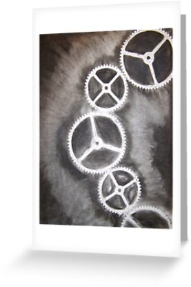 Charcoal Gears by MistressFogg