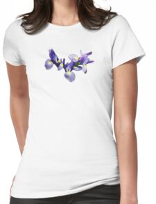 Group of Japanese Irises Womens Fitted T-Shirt