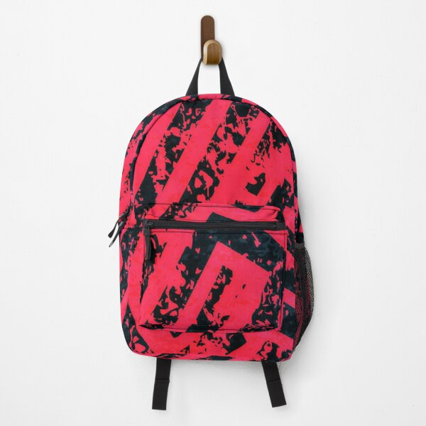 Red Maze Backpack