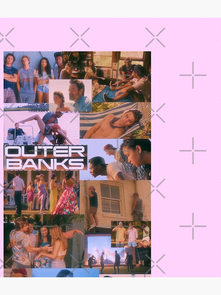 Aesthetic Summer-Outer Banks Collage fanart by Nured