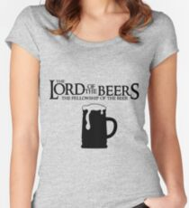 Lord of the Beers - Fellowship of the Beer Women's Fitted Scoop T-Shirt