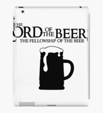 Lord of the Beers - Fellowship of the Beer iPad Case/Skin