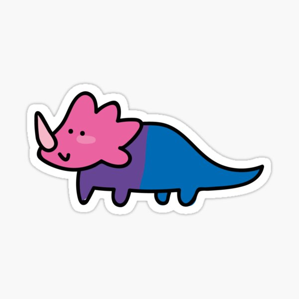 biceratops Pegatina