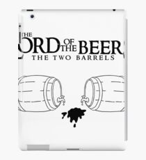 Lord of the Beers - The Two Barrels iPad Case/Skin