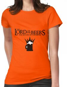 Lord of the Beers - Return of the Drink Womens Fitted T-Shirt