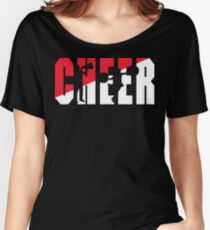 CHEER Women's Relaxed Fit T-Shirt