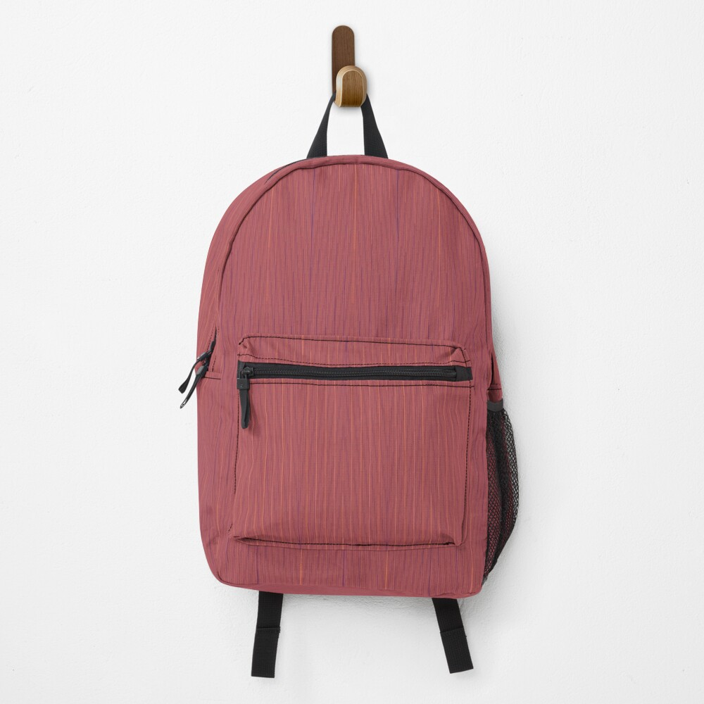 Small red stripes Backpack