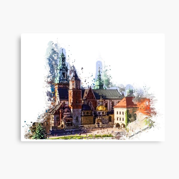 Wawel Castle Cracow Metal Print