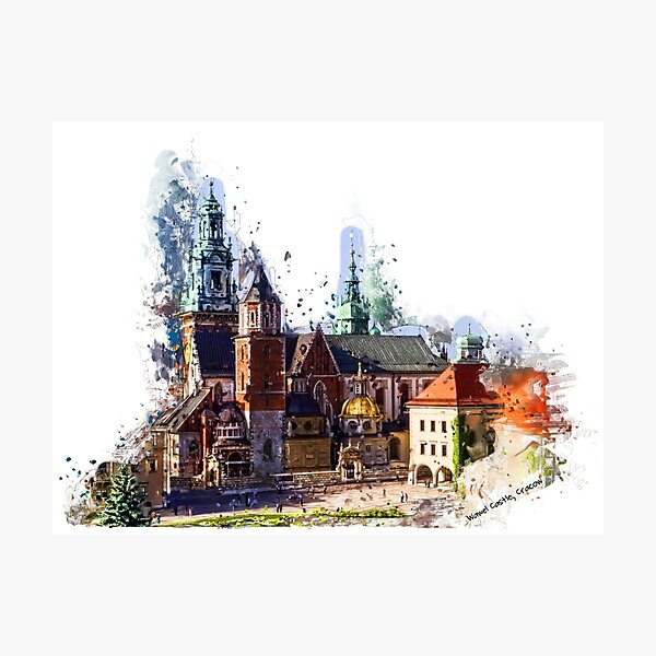 Wawel Castle Cracow Photographic Print