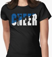 CHEER Women's Fitted T-Shirt