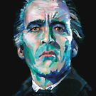 The Count - Christopher Lee by Ashley Thorpe
