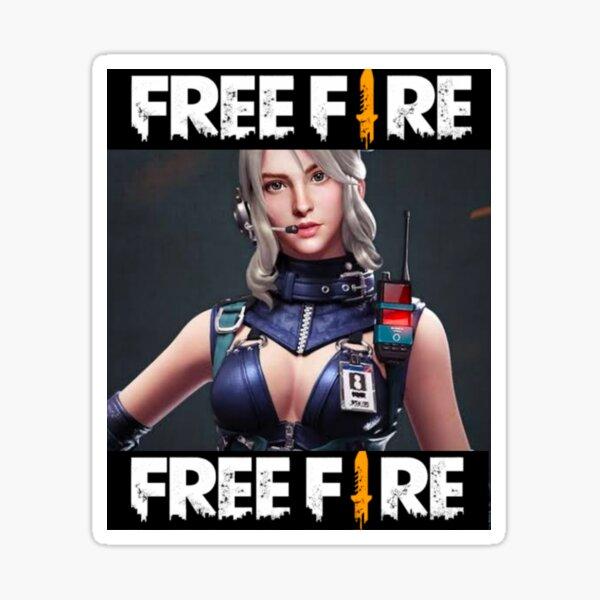 Me encanta el fuego libre Pegatina