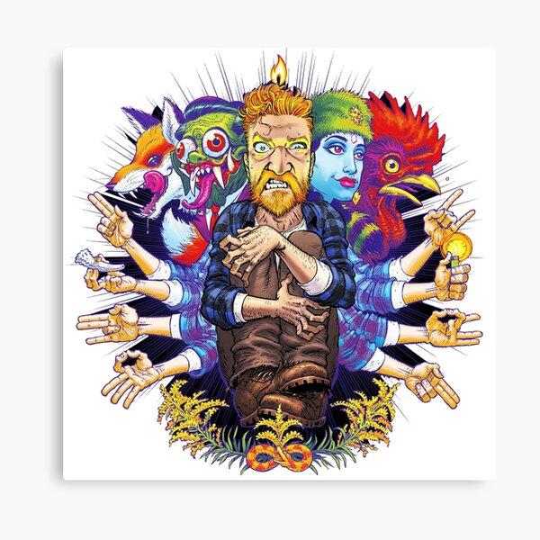 tyler childers 02 Genre: Musik country, Bluegrass, Musik rakyat 99art Canvas Print