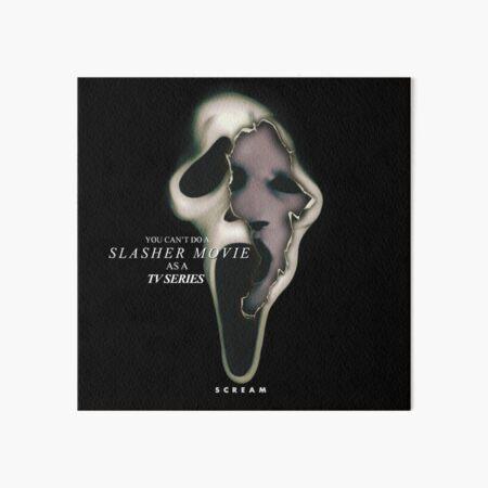 Scream x Scream The Series Art Board Print
