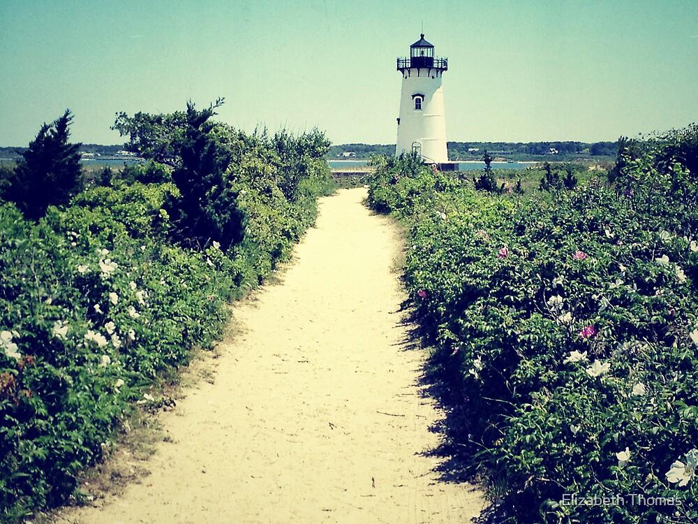 Edgartown Lighthouse, Martha's Vineyard by Elizabeth Thomas
