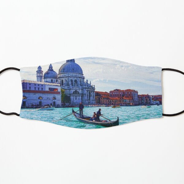 Impressions of Venice - Traghetto Crossing the Grand Canal Kids Mask