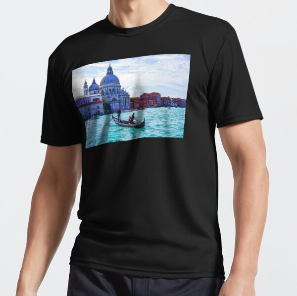 Impressions of Venice - Traghetto Crossing the Grand Canal Active T-Shirt
