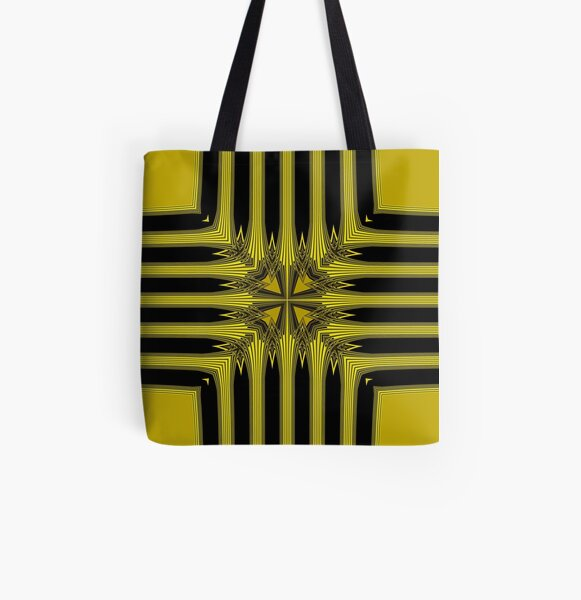 Golden Shield (2) All Over Print Tote Bag