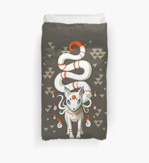 Long Tail Fox Duvet Cover
