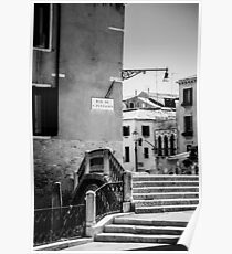 The Streets of Venice  Poster