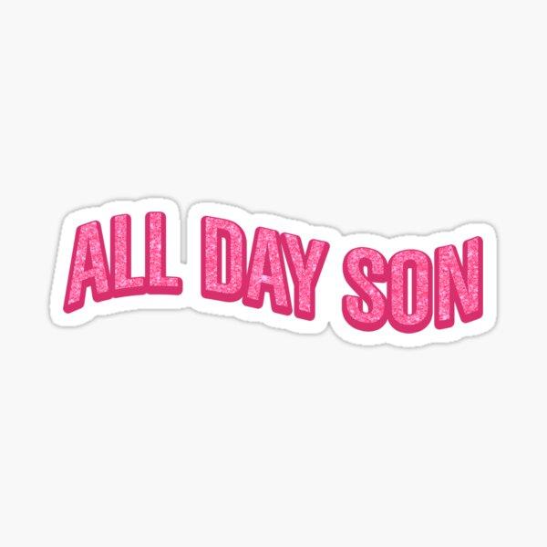 Den ganzen Tag (neues Mädchenpaket!) Sticker