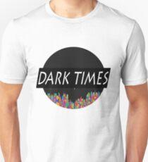 Dark Times Tetris Logo T-Shirt