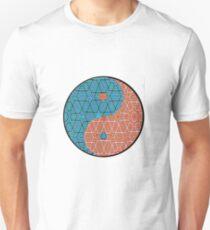 Pattern Print Yin Yang T-Shirt