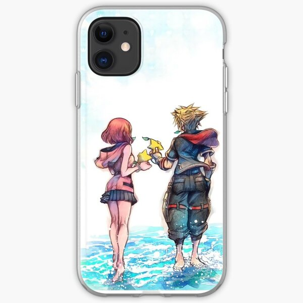 Sora + Kairi iPhone Soft Case