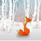 Winter Foxie by OpenArtStudio