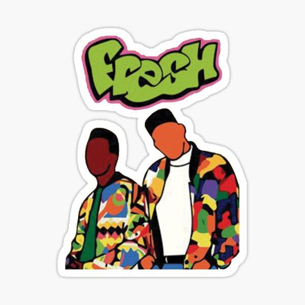 fresh colors Sticker
