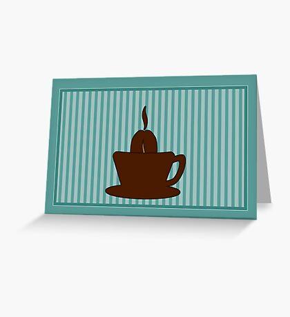 Coffee Cup VRS2 Greeting Card