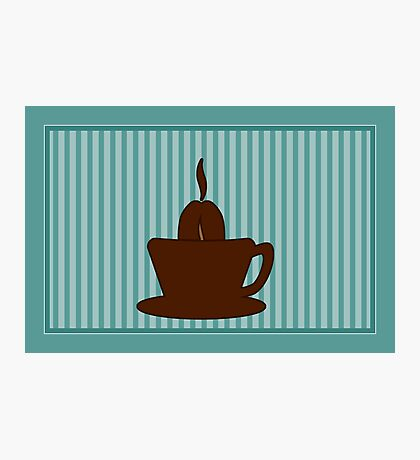 Coffee Cup VRS2 Photographic Print