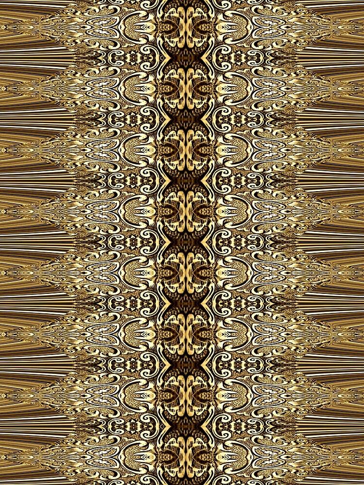 Golden Floral (3)  by vkdezine