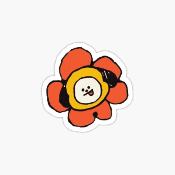 BT21 FLOWER Series Chimmy Sticker