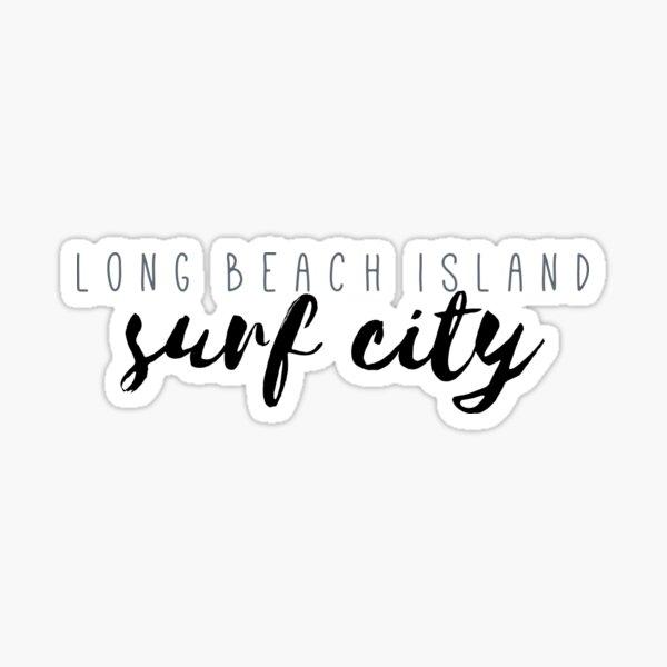 Surf City LBI Sticker