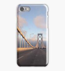 San Francisco Bay Bridge at Sunset iPhone Case/Skin