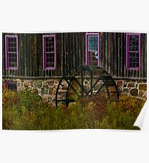 Erb's Grist Mill Poster