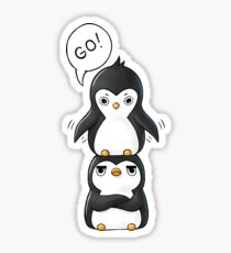 Penguins Sticker