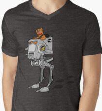 Wocka Walker Mens V-Neck T-Shirt