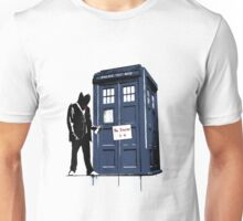 Exit Through the Phonebox Unisex T-Shirt